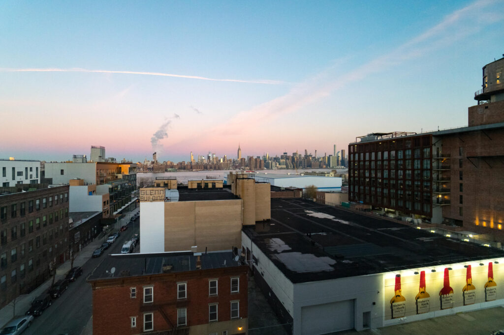 View from The Hoxton, Williamsburg