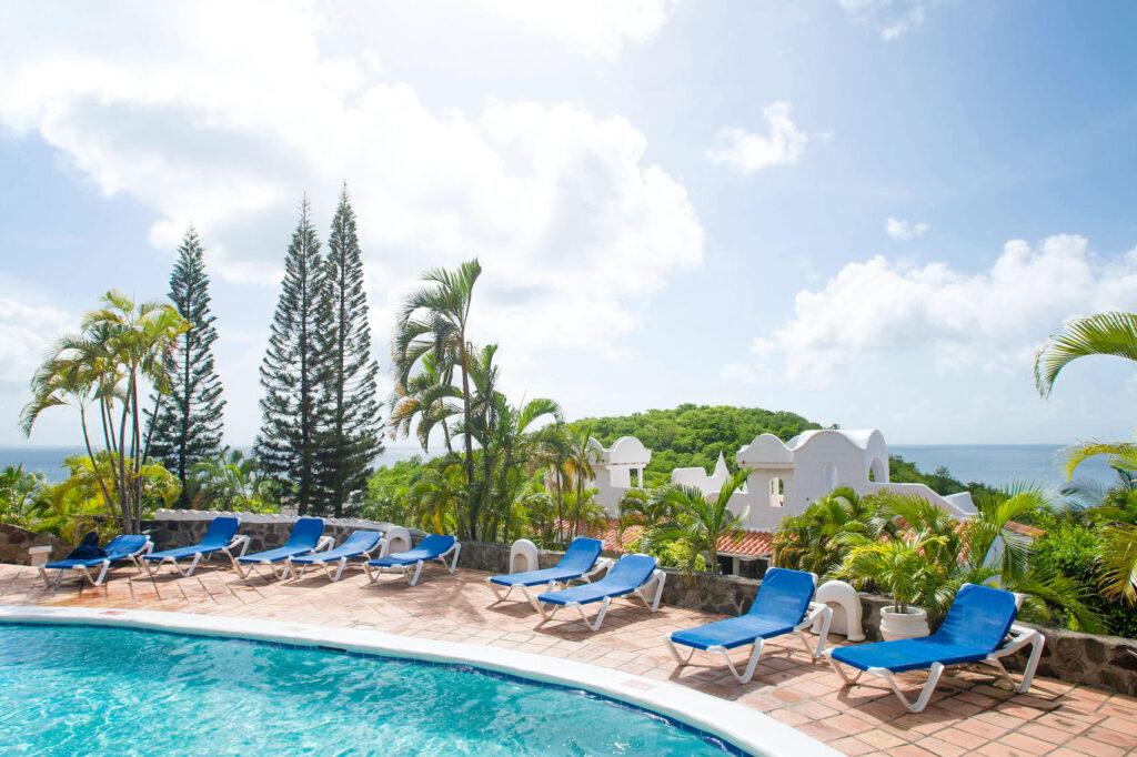 The Spa Pool at the Windjammer Landing Villa Beach Resort