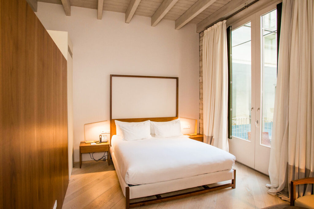 The Deluxe Room with Balcony at the Mercer Hotel Barcelona