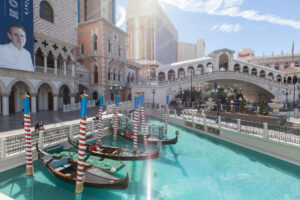 Gondola at The Venetian Resort