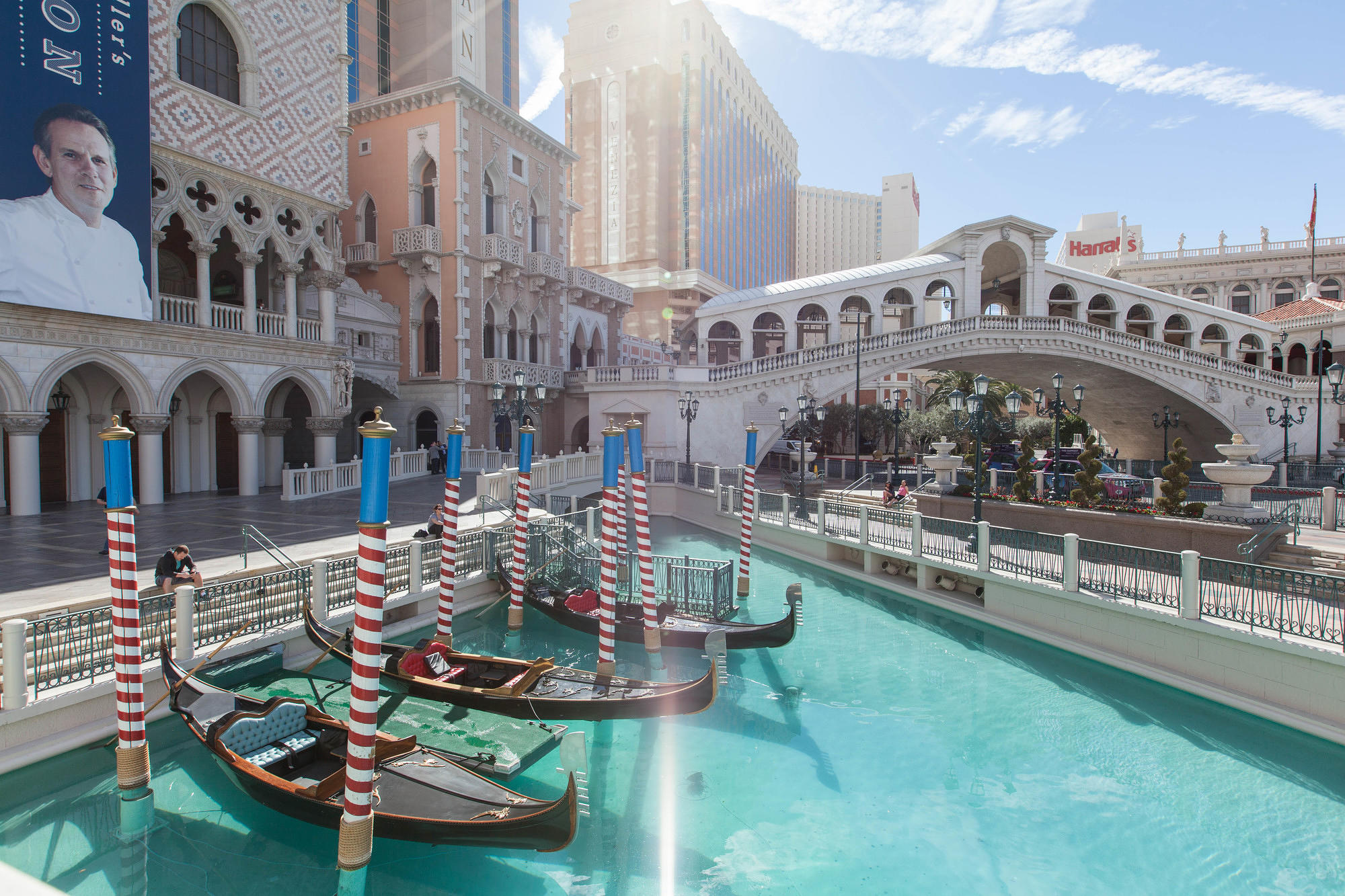 Gondola at The Venetian Resort