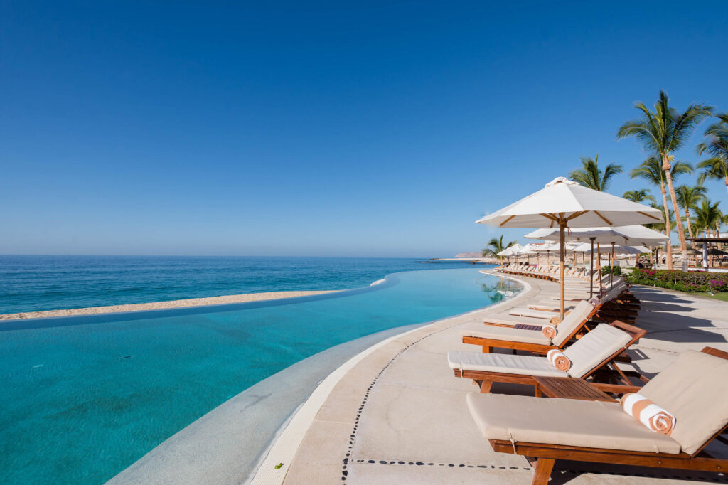 The Sunset Pool One at the Marquis Los Cabos All-Inclusive Resort & Spa