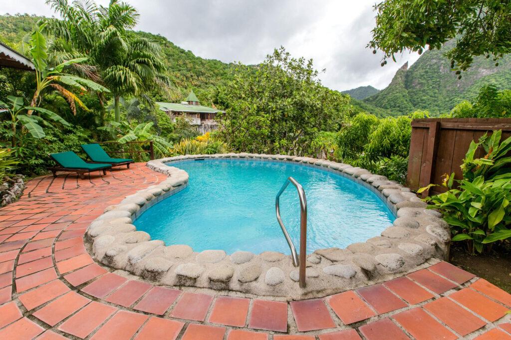 The Two-Bedroom Hillside Villa at the Stonefield Villa Resort