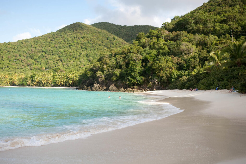 Hawksnest Beach, St. John, U.S. Virgin Islands