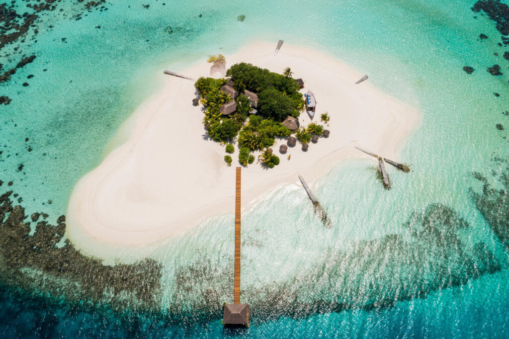Aerial Photography of Maafushivaru