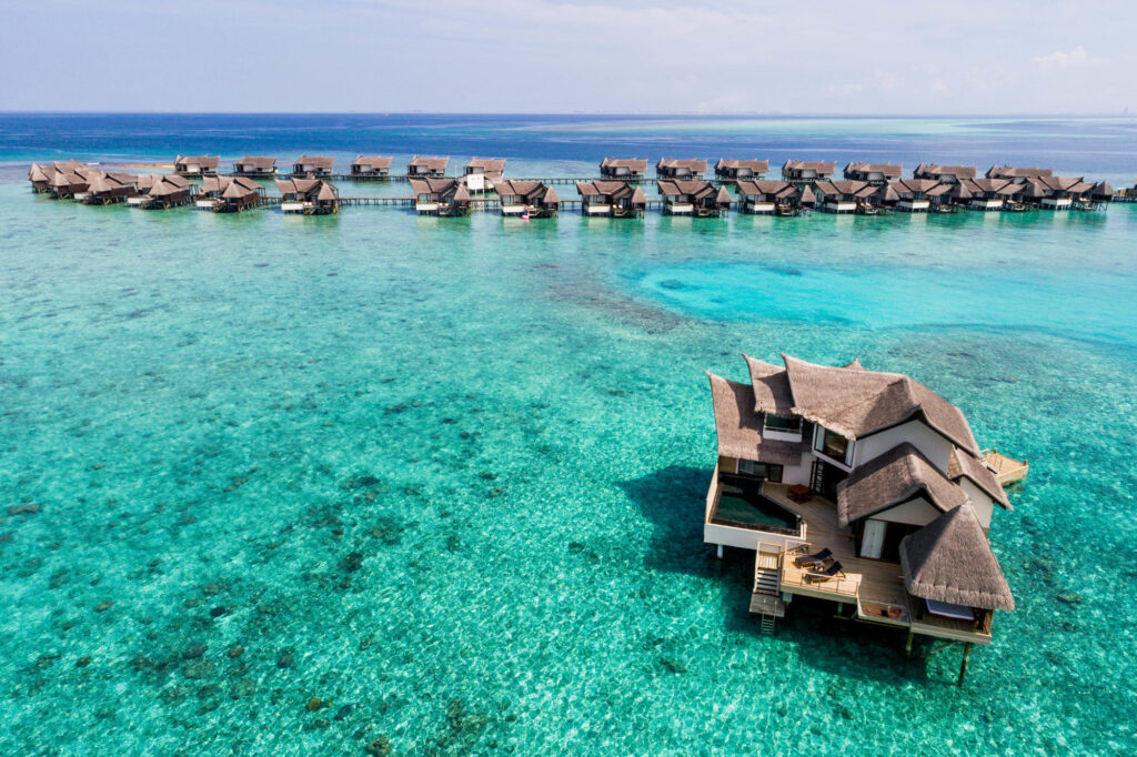 Aerial Photography of Jumeirah Vittaveli