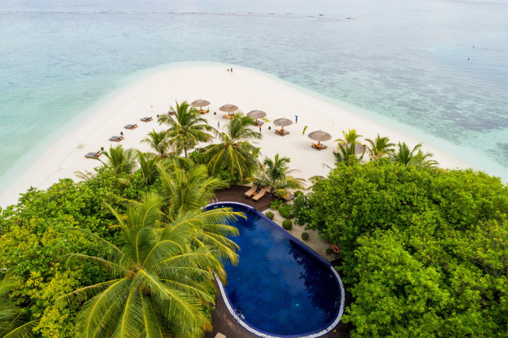 Aerial Photography at Adaaran Prestige Vadoo