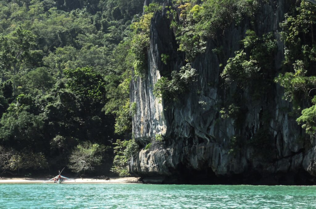 Outside the Puerto Princesa Underground River