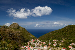 Saba island