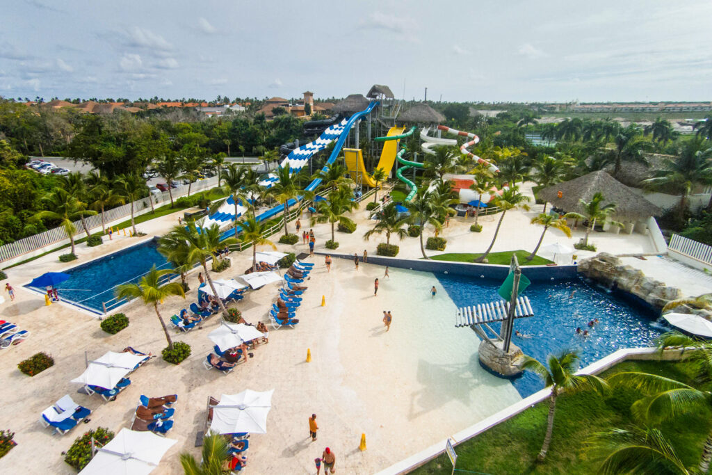 Aerial Photography at the Grand Memories Splash