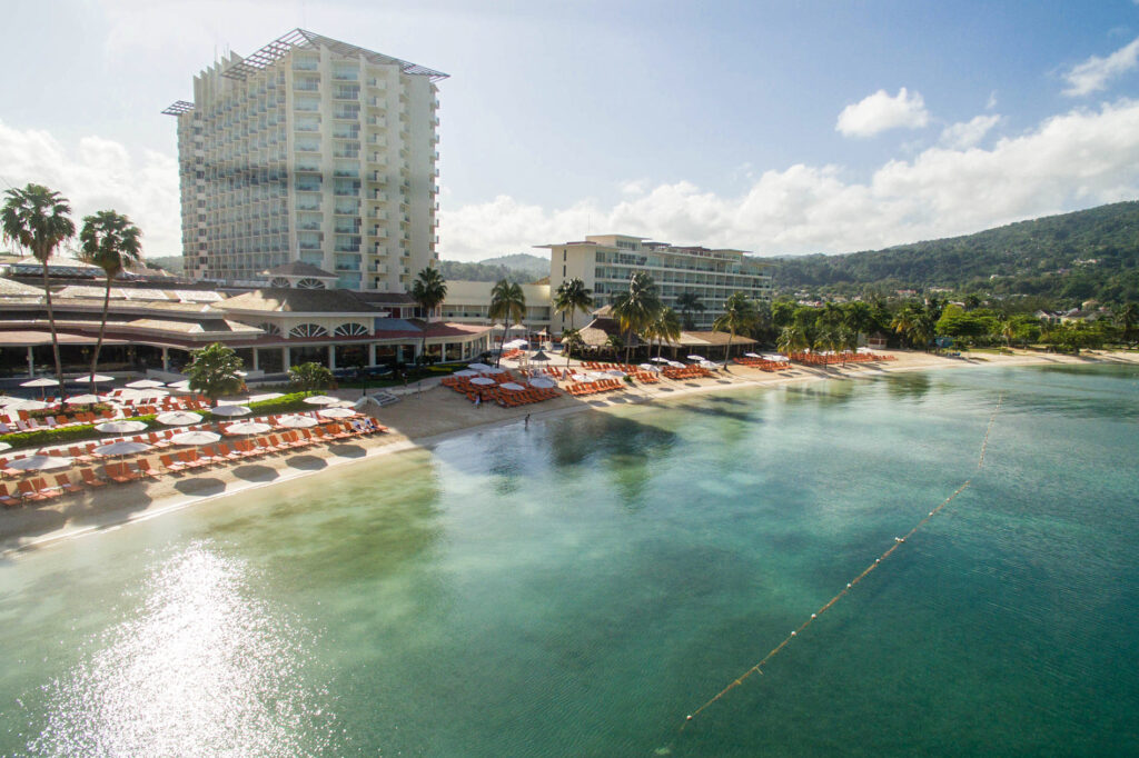 Aerial Photography at the Moon Palace Jamaica
