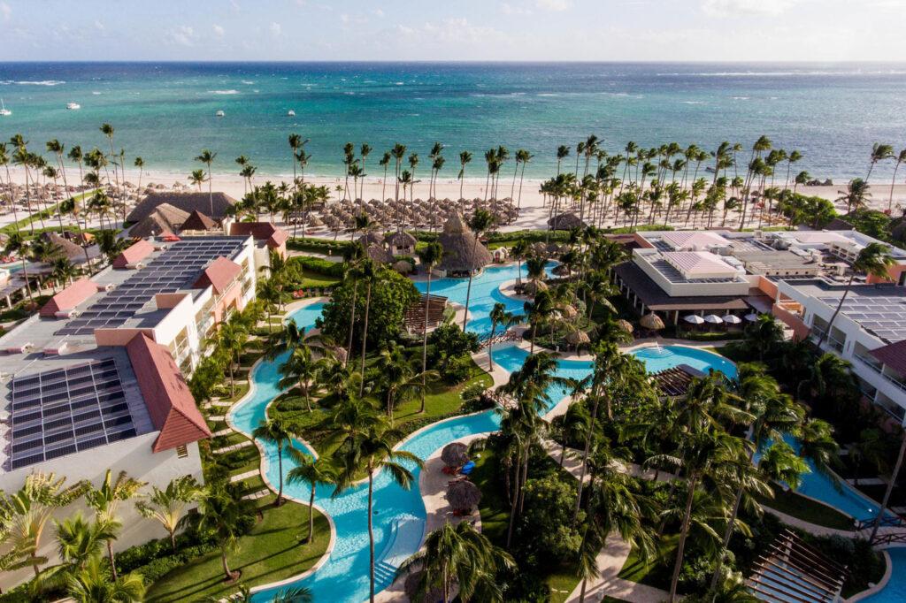 Aerial Photography of Secrets Royal Beach Punta Cana