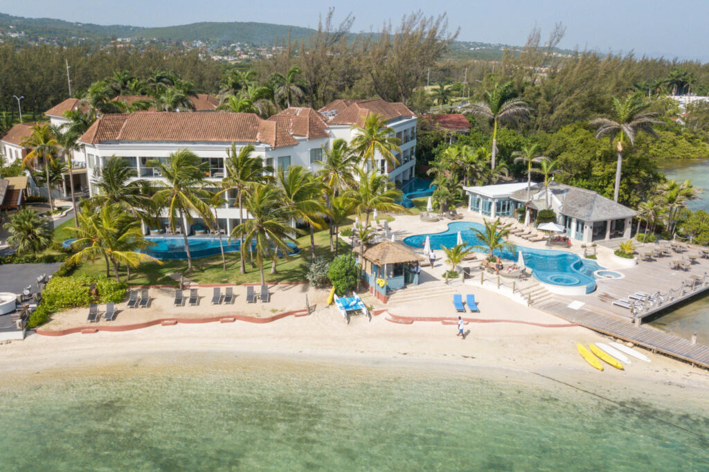 Aerial Photography at the Zoetry Montego Bay Jamaica