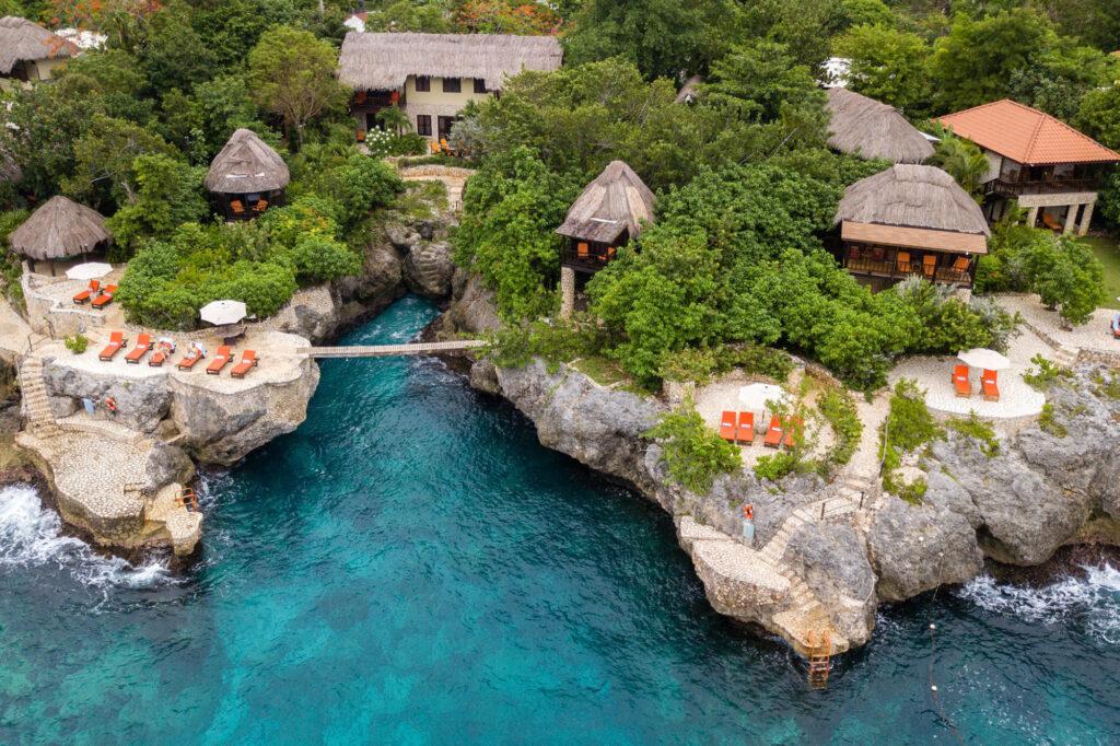 Aerial View of Tensing Pen Resort