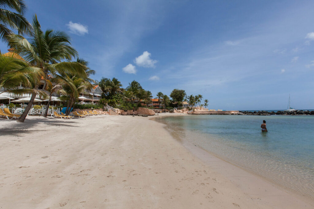 Beach at the Coco Reef Tobago