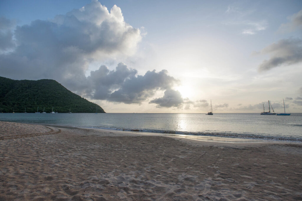 Beach at the Royal St Lucia Resort and Spa