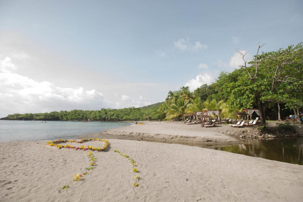 Beach at the Ti Kaye Resort & Spa