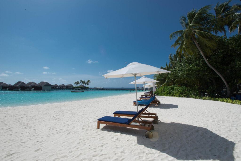 Beach at the W Maldives