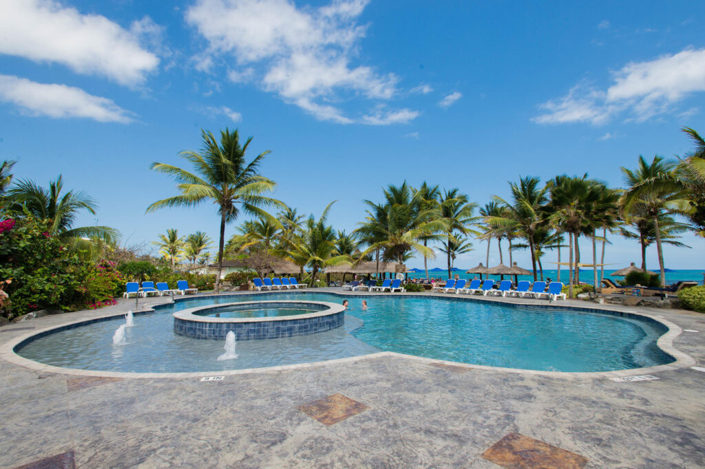 The Harmony Oasis Pool at the Coconut Bay Beach Resort & Spa
