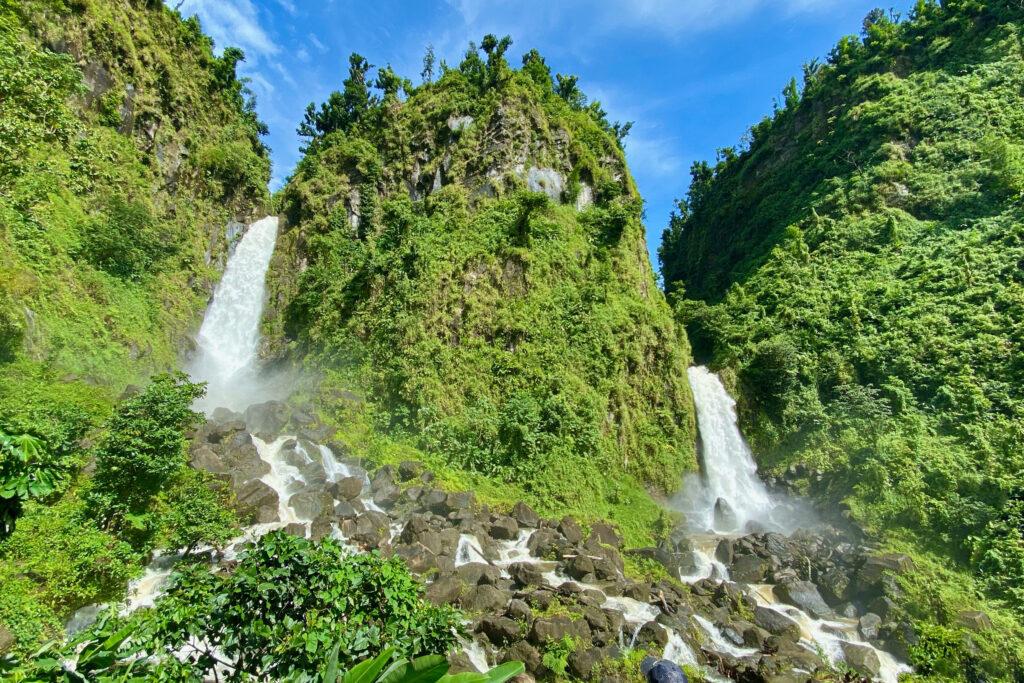 Dominica waterfalls
