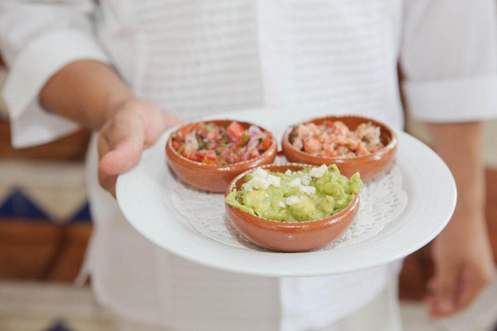 Food at Puerto Vallarta Cafe