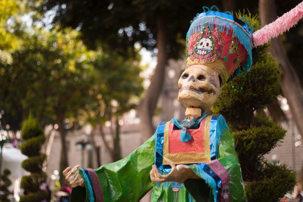 Día de Muertos, Mexico City