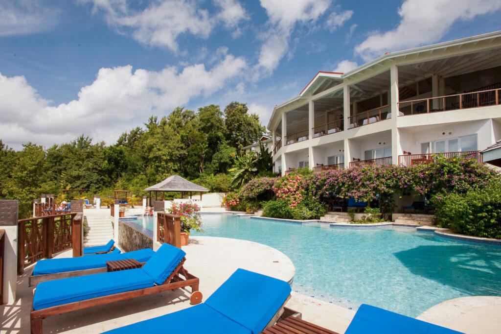 Pool at the Calabash Cove Resort and Spa