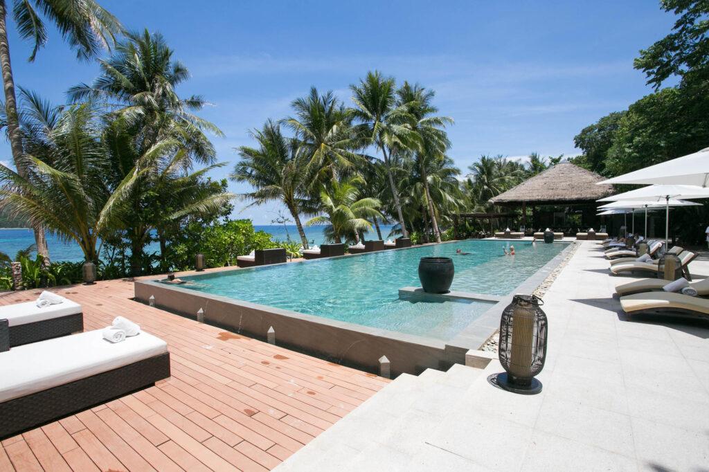 The Pool at the El Nido Resorts Pangulasian Island