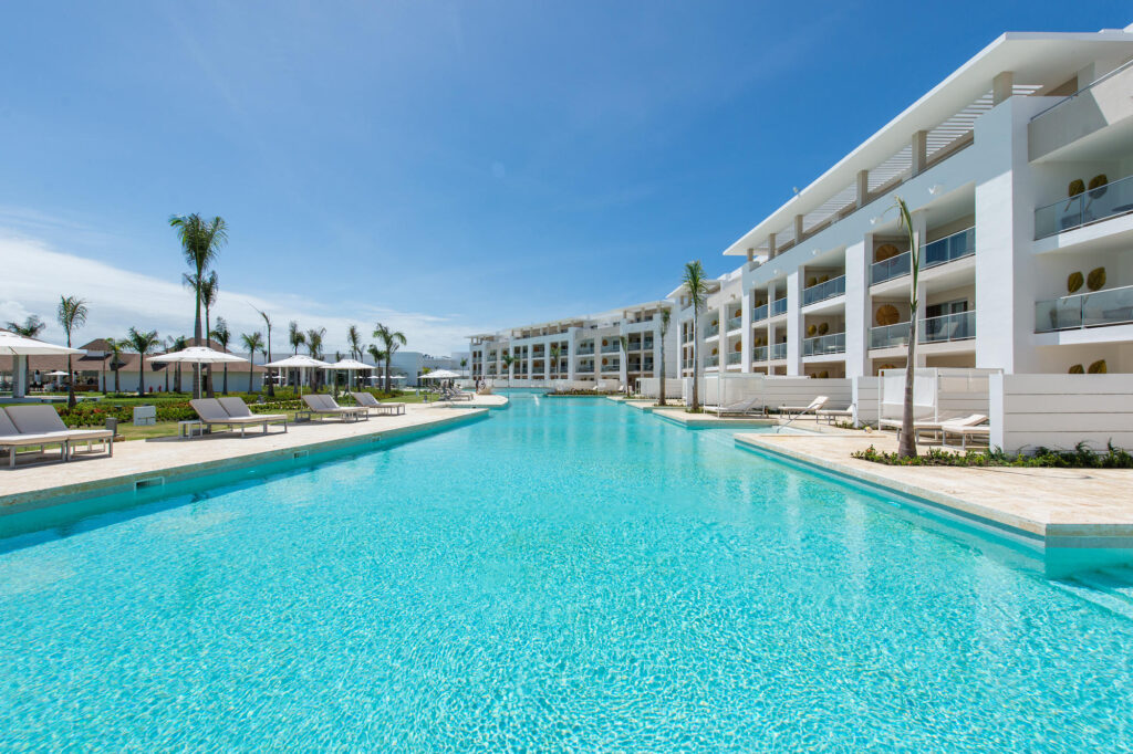 The Swim Out Pool at The Grand Reserve At Paradisus Palma Real