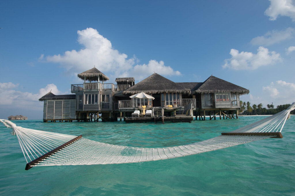 The Crusoe Residence at the Gili Lankanfushi