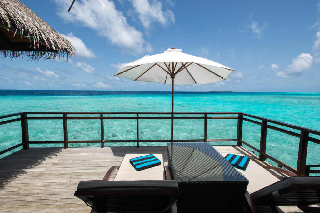 The Water Villa at the Velassaru Maldives