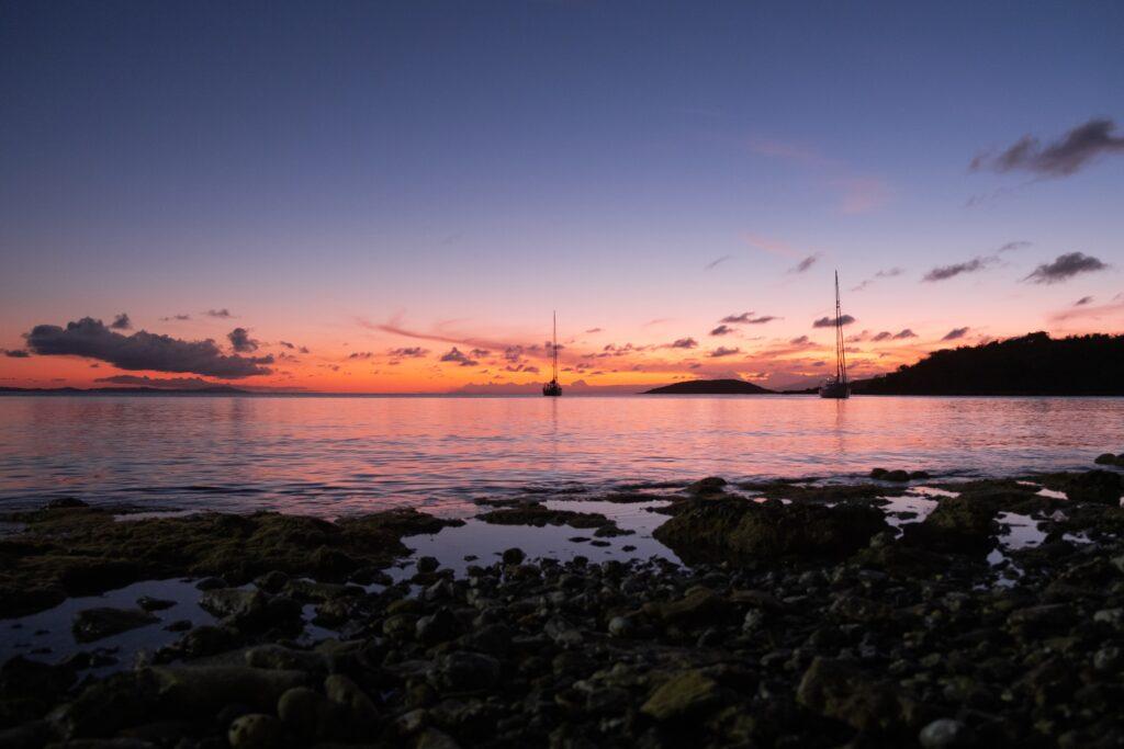 Culebra, Puerto Rico at sunset
