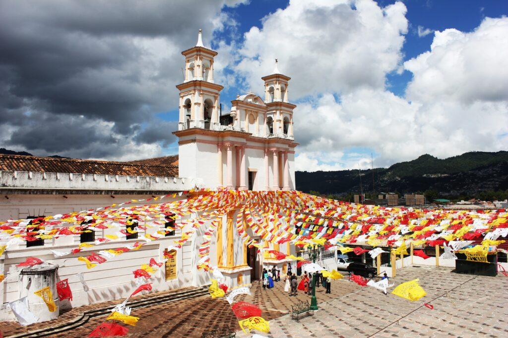 San Cristobal de las Casas Mexico church