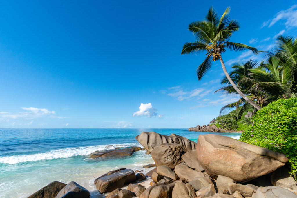 Beach at Banyan Tree Seychelles