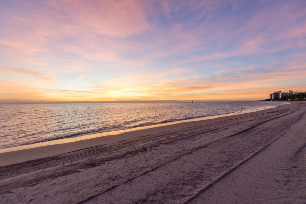 Beach at The Ritz-Carlton Key Biscayne