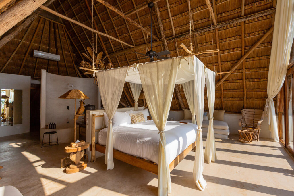 The Master Suite at the La Valise Tulum