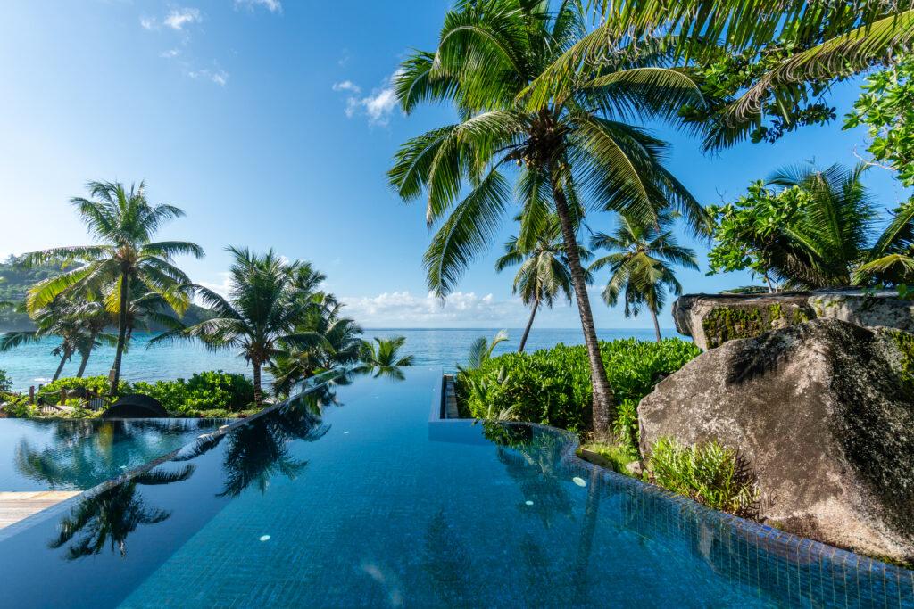 Pool at Banyan Tree Seychelles