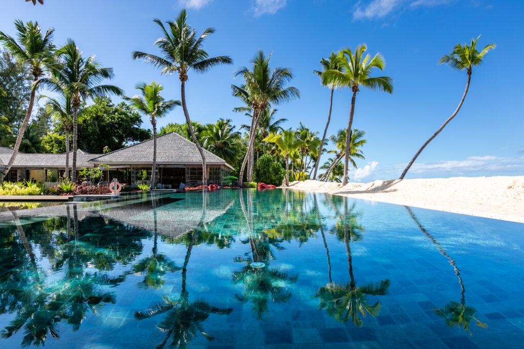 Pool at Four Seasons Resort Seychelles at Desroches Island