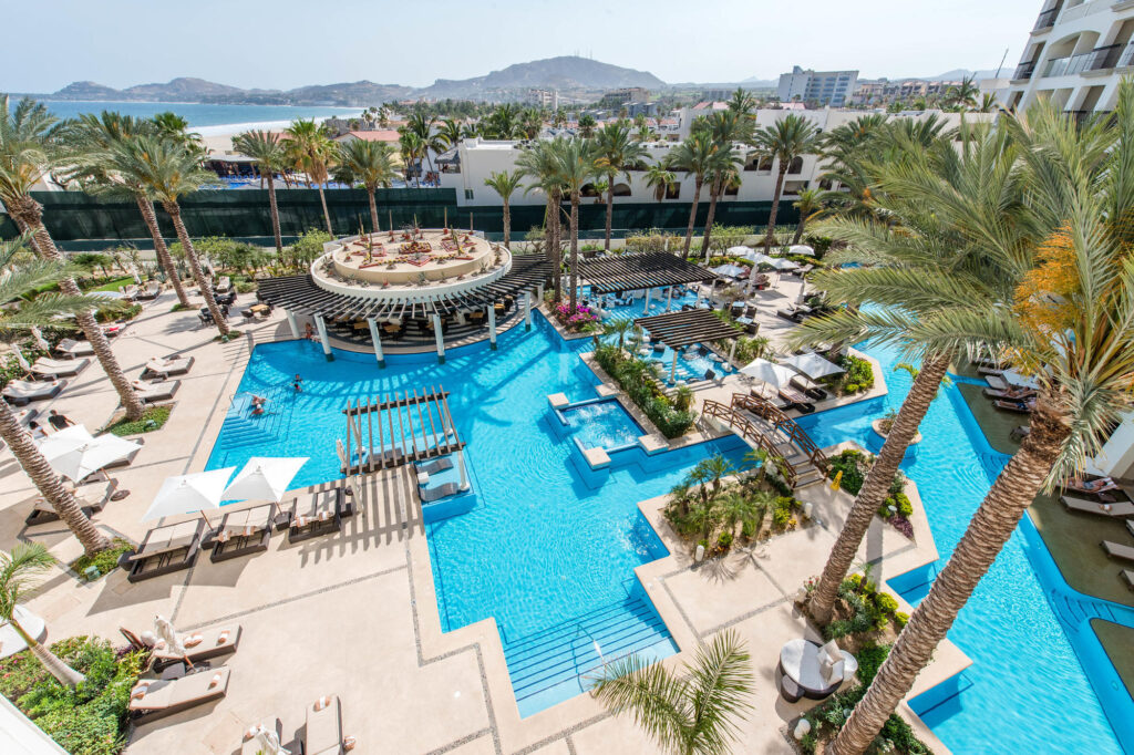 The Adult Pool at the Hyatt Ziva Los Cabos