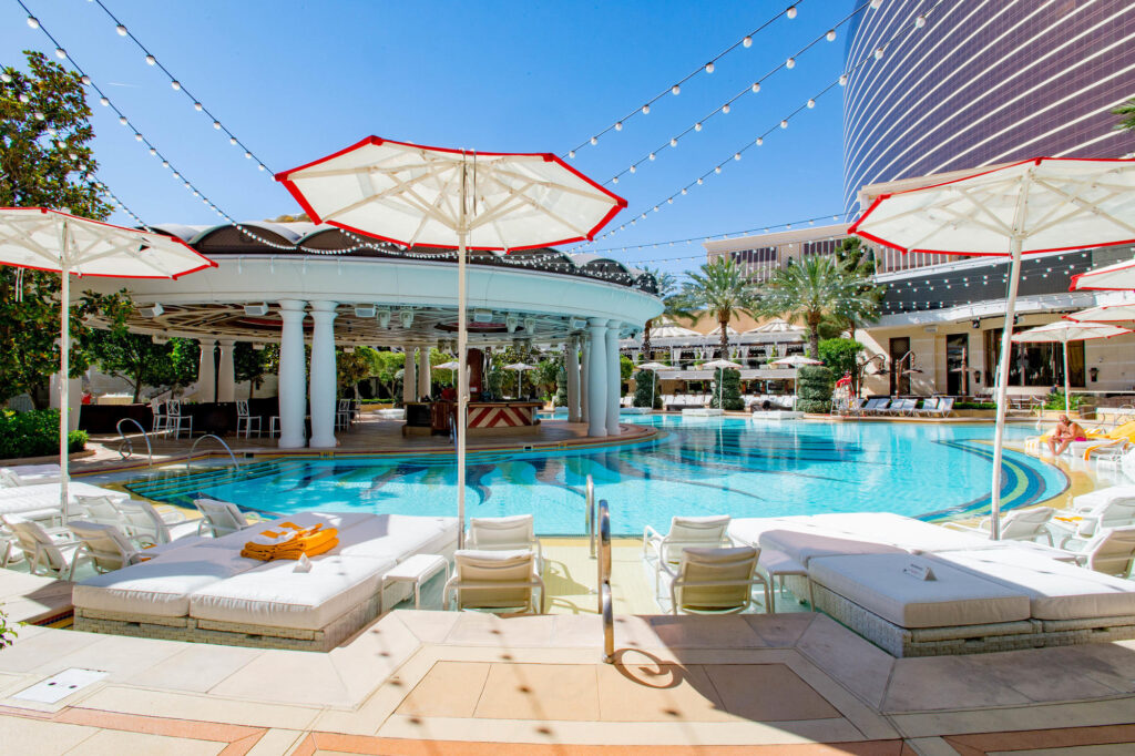 The Adult Pool at Encore at Wynn Las Vegas