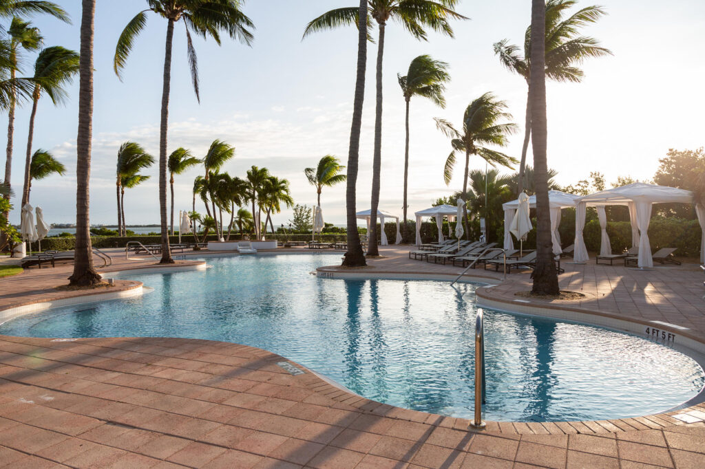 Adult Pool at the Hawks Cay Resort