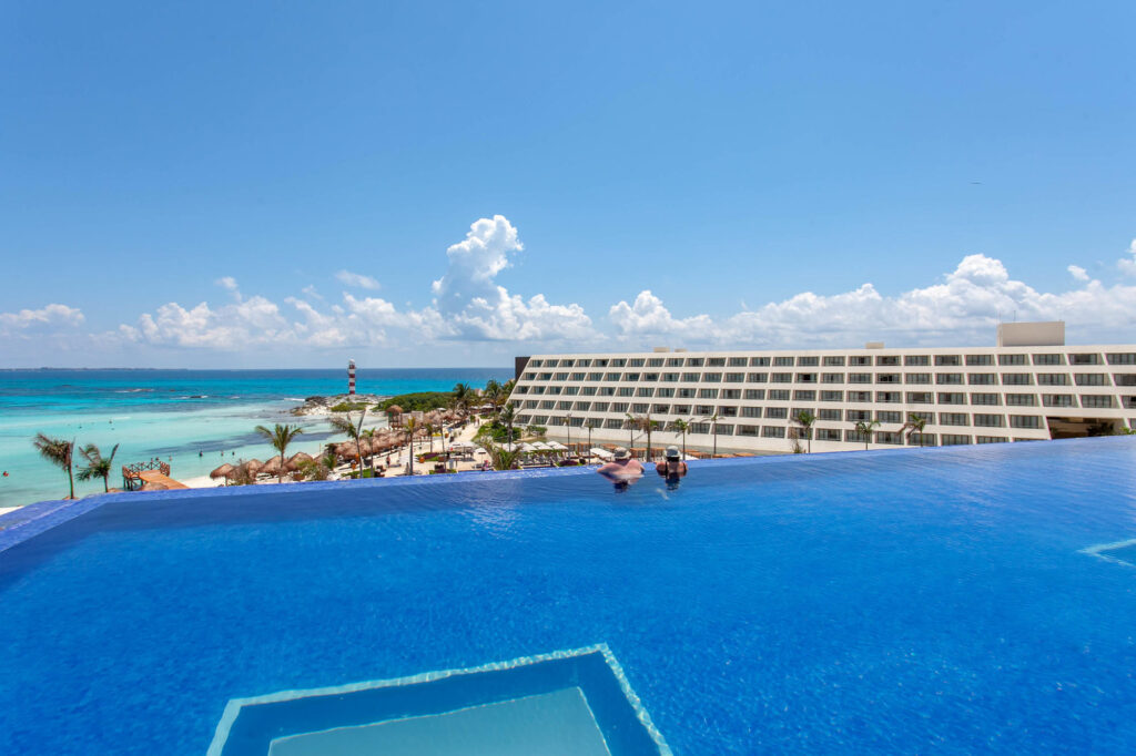 The Adult Pool at the Hyatt Ziva Cancun