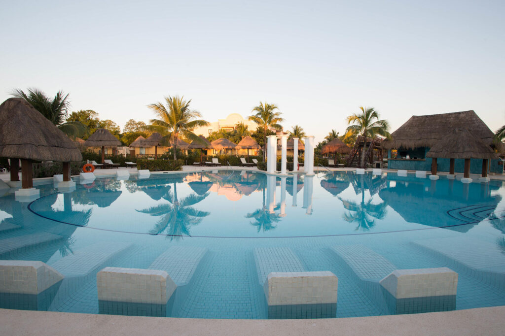 The Adults Pool at the Grand Palladium Riviera Resort & Spa