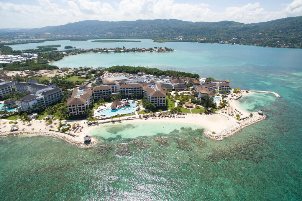 Aerial Photography at the Secrets Wild Orchid Montego Bay