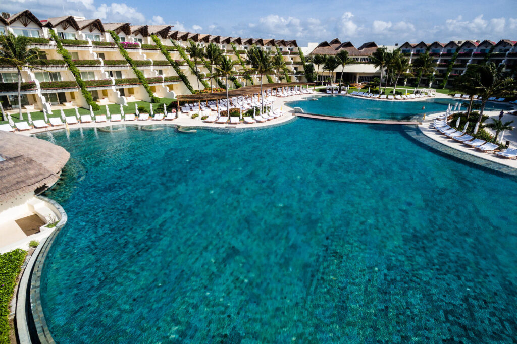 Aerial Photography at the Grand Velas Riviera Maya