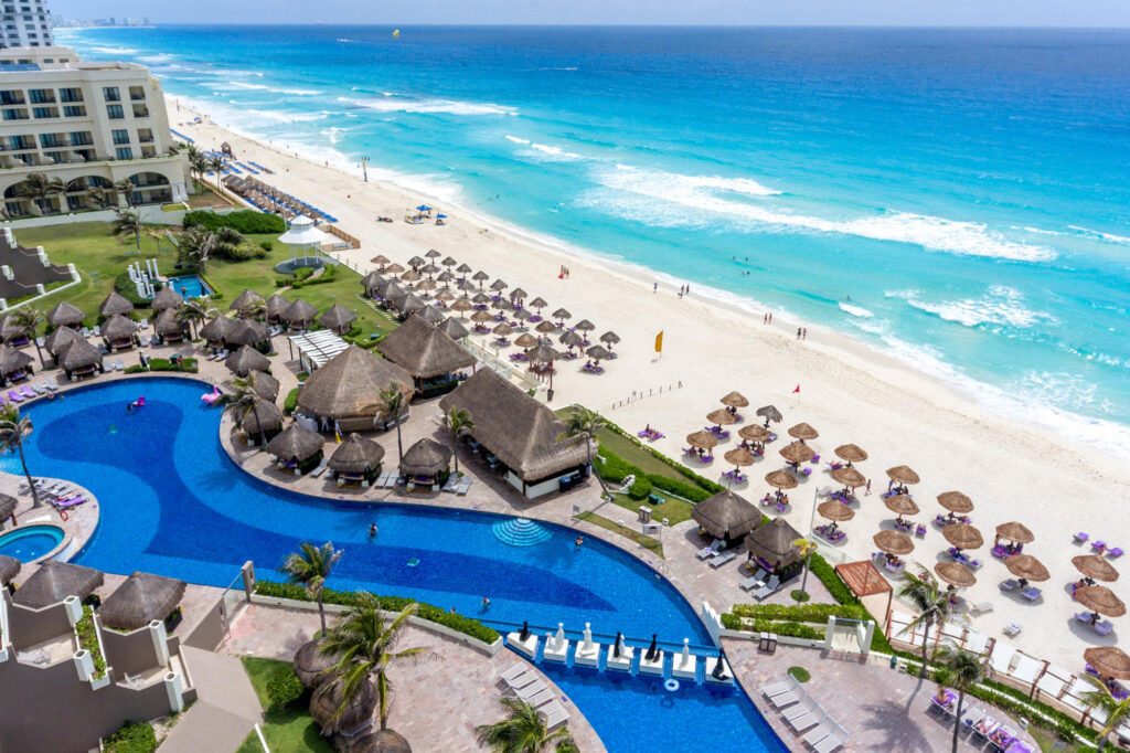 Aerial Photography at the Paradisus Cancun