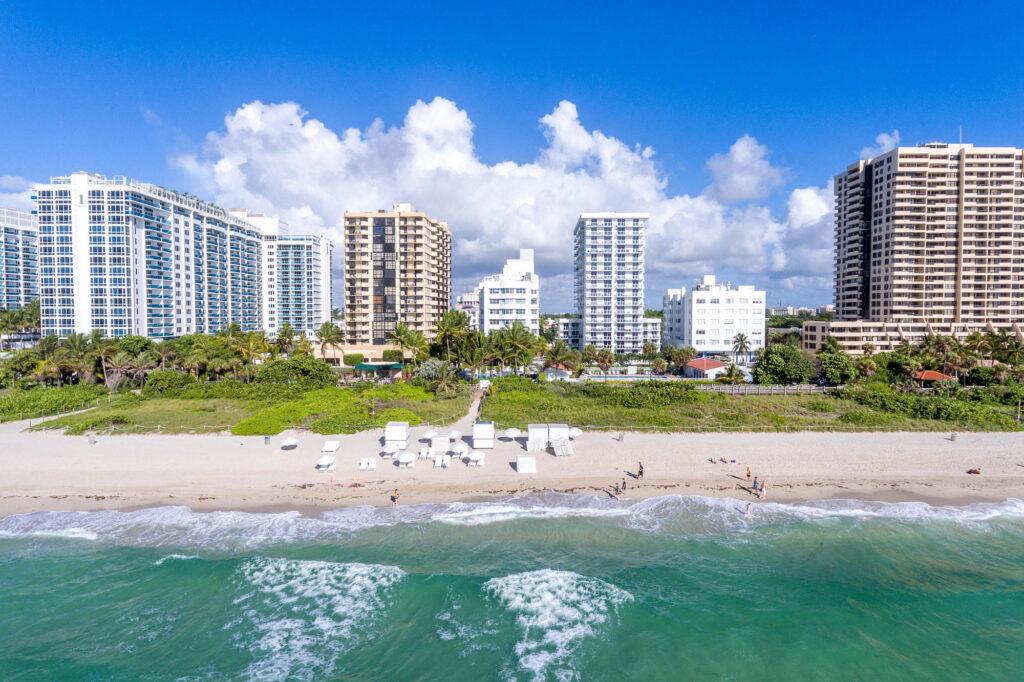 Aerial Photography at the COMO Metropolitan Miami Beach