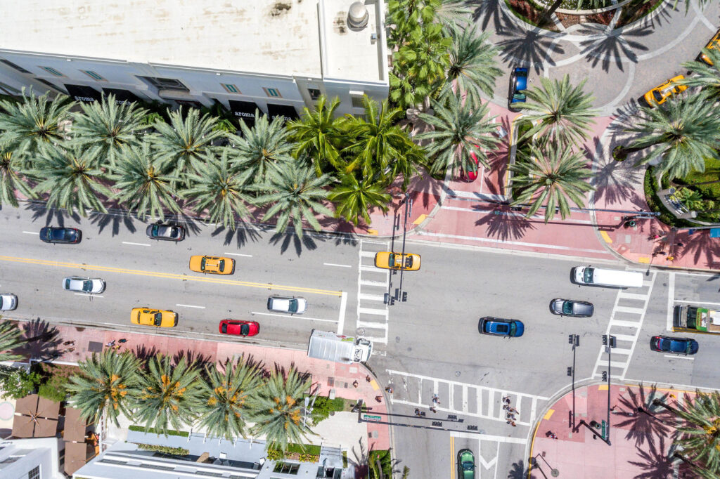 Aerial Photography at the Loews Miami Beach Hotel