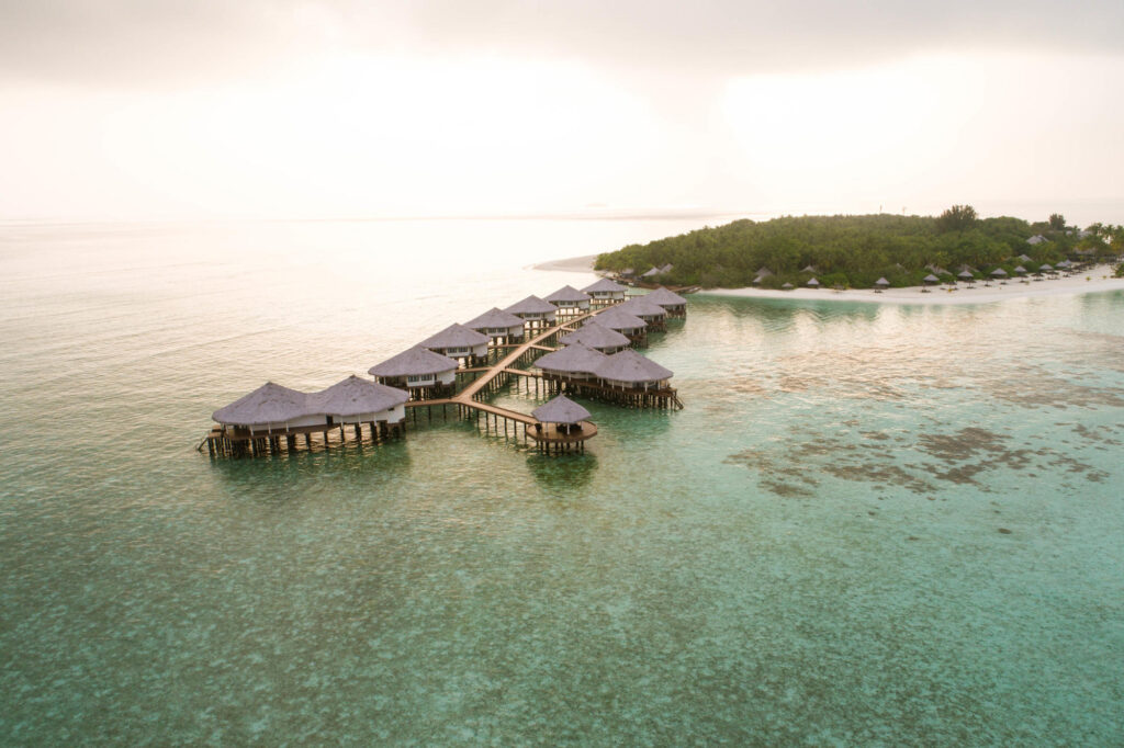 Aerial Photography of Kihaa Maldives