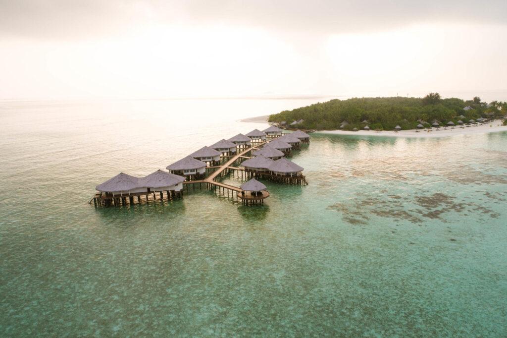 Aerial Photography of Kihaa Maldives